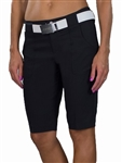 JoFit Belted Bermuda Golf Short Black