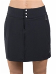 JoFit Black Signature Golf Skort