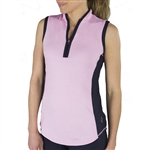 JoFit Interval Sleeveless Mock - Bloom/Midnight