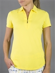 Jofit Short Sleeve Performance Polo - Vibrant Yellow
