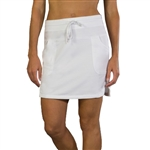 JoFit Chalet Leisure White Skirt