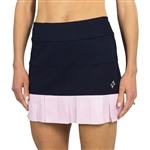 JoFit Pearl Skort - Midnight/Bloom Gingham