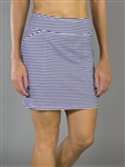 JoFit Mina Golf Skort - Blue Stripe