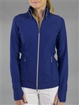 JoFit Dynamic Activewear Jacket - Blue Depth