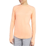 JoFit Solar UPF50 Sun Top - Papaya