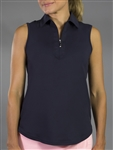 JoFit Midnight Sleeveless Golf Polo