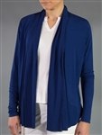 JoFit Blue Depth Shawl Cardigan