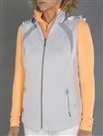 JoFit Sprint Hooded Vest - White