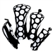 Glove It Mod Dotd Headcovers (Set of 4)