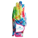 Glove It Ladies Golf Glove Electric Plaid