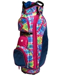 love It Ladies Electric Plaid Cart Bag
