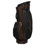 Greg Norman Golf Cart Bag - Classic Brown