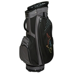 Greg Norman Golf Cart Bag - Black Core