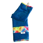Glove It Electric Plaid Golf Towelt