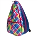 Glove It Electric Plaid Tennis Backpack