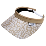 Glove It Uptown Cheetah Golf Visors (w/Twist Cord)