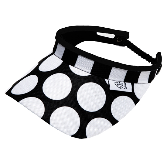 Glove It Mod Dot Golf Visors (w/Twist Cord)