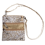 Glove It Uptown Cheetah 3-Zip Cross Body Bag