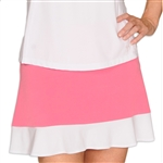 Golftini Pull On Ruffle Tech Golf Skort
