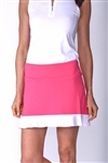 Golftini Sandy Lane Tech Pull On Hot Pink Skort