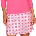Golftini Tech Pull On Golf Skort - Times Square