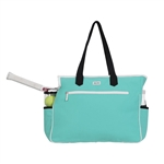 Ame & Lulu Kensington Court Bag - Aqua/Black