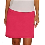 Golftini Courageous Pink Washable Ultrasuede Golf Skort