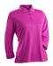 Nancy Lopez Luster Hot Pink 3/4 Sleeve Polo