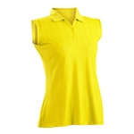 Nancy Lopez Grace Amber Sleeveless Polo