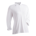 Nancy Lopez Grace White 3/4 Sleeve Polo