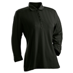Nancy Lopez Grace Black 3/4 Sleeve Polo