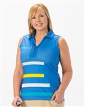 Nancy Lopez Blast Sleeveless Polo
