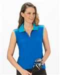Nancy Lopez Favor Sleeveless Polo