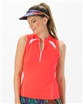 Nancy Lopez Sporty Sleeveless Polo