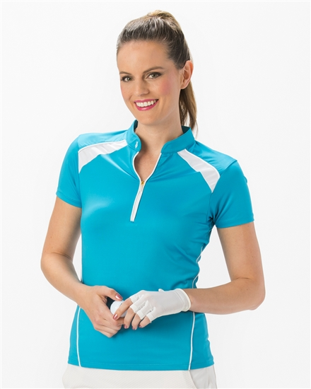 Nancy Lopez Sporty Short Sleeve Polo