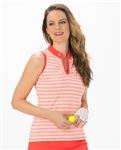 Nancy Lopez Dizzy Sleeveless Polo