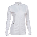 Nancy Lopez Quake White Active Jacket