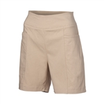 "Nancy Lopez 9"" Pully Khaki Golf Short"
