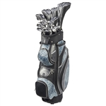 Nancy Lopez Zenith Black/Teal Golf Clubs & Bag