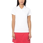 Puma Pounce Short Sleeve Golf Polo- Bright White