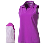 Puma Woven Block Sleeveless Polo - Purple Cactus Flower