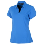 Sunice Mitzi Coollite Short Sleeve Polo - Vibrant Blue
