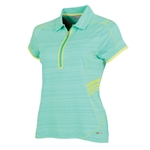 Sunice Scarlett Coollite Short Sleeve Polo - Spearmint