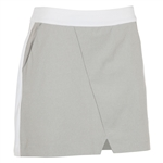 Sunice Bonnie Stretch Golf Skort - Oyster Melange