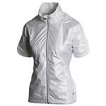 Sunice Golf Brittany Short Sleeve Wind Jacket - Oyster