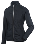 Sunice Belmont X20 Full Zip Water Repellent Jacket - Black