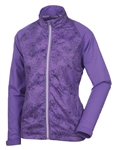 Sunice Belmont X20 Full Zip Water Repellent Jacket - Iris/Midnight