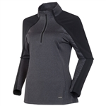 Sunice Pomona Stretch Athletic Pullover - Black