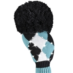 Just4Golf Sparkle Turquoise Diamond Driver Headcover