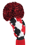 Just4Golf Sparkle Red/Black Diamond Fairway Headcover